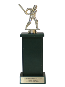 3rd Grade Batting Trophy